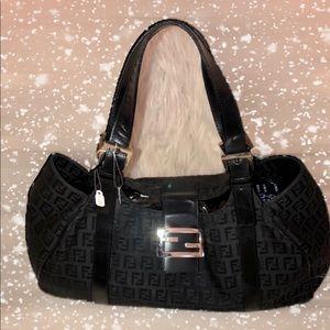 Authentic Fendi shoulder Handbag